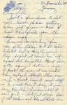 Letter from Germany, November 20, 1944