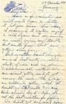 Letter from Germany, November 24, 1944