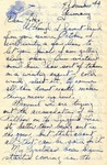 Letter from Germany, December 4, 1944 by Ralph Mouw