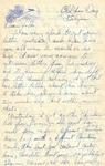 Letter from Belgium, December 31, 1944