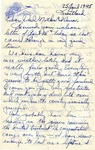 Letter from Krautland, April 25, 1945