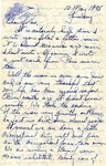 Letter from Germany, May 10, 1945