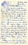 Letter from Germany, May 13, 1945
