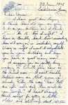 Letter from Sondershausen, Germany, June 23, 1945