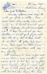 Letter from Sondershausen, Germany, June 24, 1945