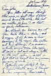Letter from Sondershausen, Germany, June 30, 1945