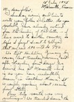 Letter from Marseille, France, July 15, 1945