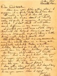 Letter from Marseille, France, August 17, 1945