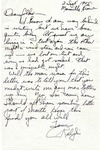 Letter from Marseille, France, September 2, 1945