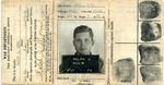 Officer's Identification Card, Issued September 14, 1943 by Ralph Mouw
