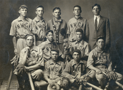 1911 Boys Baseball Team, Northwestern Classical Academy
