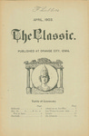 The Classic, April 1903 by Northwestern Classical Academy