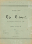 The Classic, January 1901 by Northwestern Classical Academy