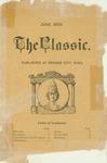 The Classic, June 1903