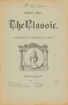 The Classic, March 1904 by Northwestern Classical Academy