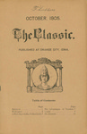 The Classic, October 1905