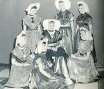 1954 Tulip Festival Court