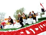 Tulip Festival Float