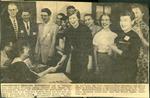 Estherville Daily News, Fine Arts Festival, 1956