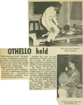 Newspaper Article, Othello, 1968