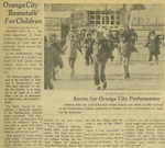 "Newspaper Article, ""Beanstalk"" for Children, 1969"
