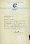 Delta Psi Omega Letter, 1951