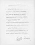 Citation from Northwestern College President Lars Granberg by Lars I. Granberg