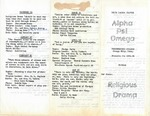 Alpha Psi Omega, 1961 by Unknown