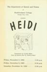 Heidi, 1962 by Unknown
