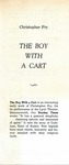 The Boy with a Cart, 1963 by Unknown