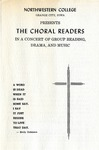 Choral Readers Program, 1964 by Unknown