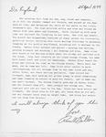 Ronald Bollou Letter by Ronald Bollou