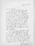 Lee Foreman Letter by Lee Foreman