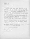 Jim Lancaster Letter by Jim Lancaster