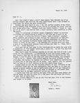 Duane Moret Letter by Duane L. Moret