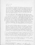 Ruth and Marinus (Rene) Spierenburg Letter by Marinus Spierenburg