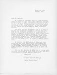 Wayne Vander Schaaf Letter by Wayne Vander Schaaf