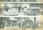 Orange City Tulip Festival Newspaper Photographs