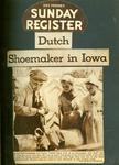 Newspaper Feature, Dutch Shoemaker in Iowa