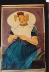 Oil painting: Girl