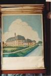 Oil painting: High School by Roeland Van Cavel