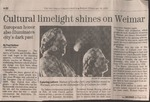"Article, ""Cultural Limelight Shines on Weimar"", The San Diego Union-Tribune, Friday, February 26, 1999"