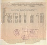 Earnings statement of Roderich Wolff from 1939 through 1956, issued May 23, 1957