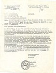 Legal letter regarding survivors pension, July 19, 1973